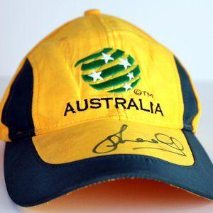 Kids Signed Australia Socceroos Cap Snap Back